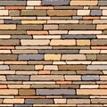 Stone wall. Seamless pattern. Royalty Free Stock Photography