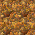 Stone wall seamless texture tile Royalty Free Stock Photos