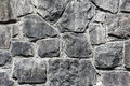 Stone wall texture close-up Stock Photography