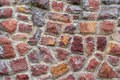 Stone wall texture color textured background Royalty Free Stock Photography