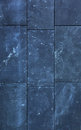 Stone wall texture dark blue slabs Royalty Free Stock Images