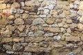 Stone wall texture real photo Royalty Free Stock Photography