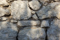 Stone wall texture real photo Stock Photography
