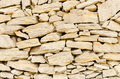 Stone wall texture with stones piled Stock Photos