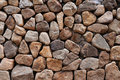 Stone walls beautiful close up view Stock Image