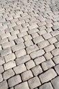 Stoneblock pavement Stock Images