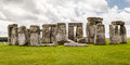 Stonehenge archaeological site england the prehistoric monument with its stones in a circular shape wiltshire Royalty Free Stock Images