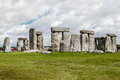 Stonehenge archaeological site england the prehistoric monument with its stones in a circular shape wiltshire Stock Photography