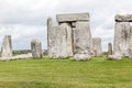 Stonehenge archaeological site england the prehistoric monument with its stones in a circular shape wiltshire Royalty Free Stock Photography