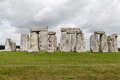 Stonehenge archaeological site england the prehistoric monument with its stones in a circular shape wiltshire Royalty Free Stock Image
