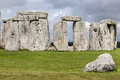Stonehenge archaeological site england the prehistoric monument with its stones in a circular shape wiltshire Royalty Free Stock Photos