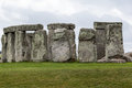 Stonehenge archaeological site england the prehistoric monument with its stones in a circular shape wiltshire Stock Photo
