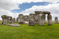 Stonehenge archaeological site england the prehistoric monument with its stones in a circular shape wiltshire Royalty Free Stock Photo