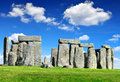 Stonehenge historical monument england uk Stock Images