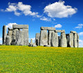 Stonehenge historical monument england uk Royalty Free Stock Photography