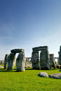 Stonehenge monument taken at wiltshire united kingdom Royalty Free Stock Photos
