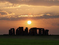 Stonehenge, a prehistoric monument in England. UNESCO World Heritage Site. Royalty Free Stock Photo