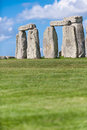 Stonehenge prehistoric monument near salisbury wiltshire engla ancient england unesco space for text Stock Photography