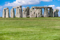 Stonehenge prehistoric monument near salisbury wiltshire engla ancient england unesco space for text Stock Photo