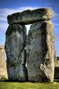Stonehenge standing stones Royalty Free Stock Photo