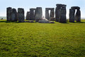 Stonehenge taken in wiltshire england picture of located Royalty Free Stock Image