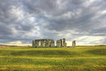 Stonehenge united kingdom england uk nature rocks seven sisters the journey to uk attraction misty landscape nature dramatic Royalty Free Stock Photography