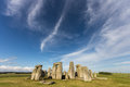 Stonehengeengland stonehenge in england with dramatic sky Stock Photos