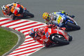 Stoner-Rossi-Pedrosa (2) Royalty Free Stock Photos