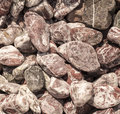 Stones background of small construction Royalty Free Stock Photo
