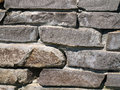Stones close up a stone wall Royalty Free Stock Images