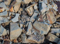 Stones with a keen edge Royalty Free Stock Photo