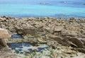Stones near Seven Islands Royalty Free Stock Photo