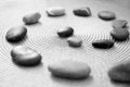 Stones representing zen, balance and meditation Royalty Free Stock Images