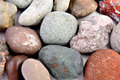 Stones from seacoast Stock Images
