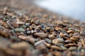 Stones on the seashore Royalty Free Stock Photo