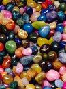 Stones the treasure of a jeweler Royalty Free Stock Photography