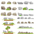 Stones and trees
