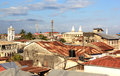 Stonetown Rooftops Royalty Free Stock Photo