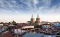 Stonetown zanzibar roof-top view over city Royalty Free Stock Photo