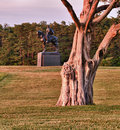 Stonewall Jackson at Manassas Battlefield Stock Photography