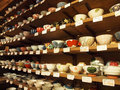Stoneware - Bowls Royalty Free Stock Photo