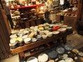 Stoneware - Plates & Bowls Royalty Free Stock Photo