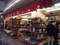 Stoneware Shop Royalty Free Stock Photo