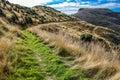 Stony Bay Peak - Akaroa - New Zealand Royalty Free Stock Photo