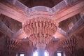 Stony column pitoresque diwan i khas at fatehpur sikri india Royalty Free Stock Photo