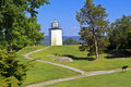 Stony Point Lighthouse Paths Royalty Free Stock Photos