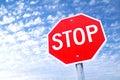 Stop Stock Image