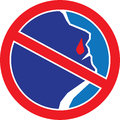 Stop Bleeding Nose Royalty Free Stock Photo