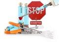 Photo : Stop Diabetes testing plan of