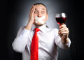 Stop drinking alcohol Royalty Free Stock Photo